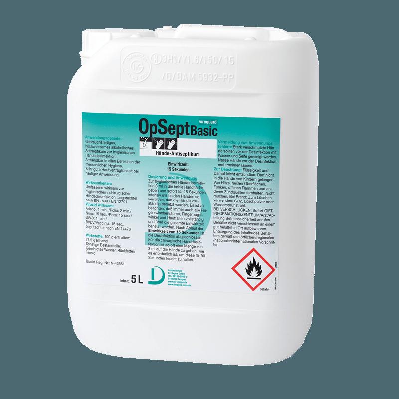 Desinfektion / Desinfektionsmittel zur Betriebshygiene 1631 - Heinol-Chemie GmbH & Co. KG
